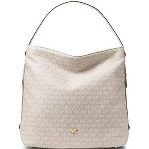 Michael Kors griffin white/cream bag